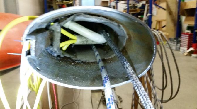 Neue Mastelektrik – Neue Fallen im Mast